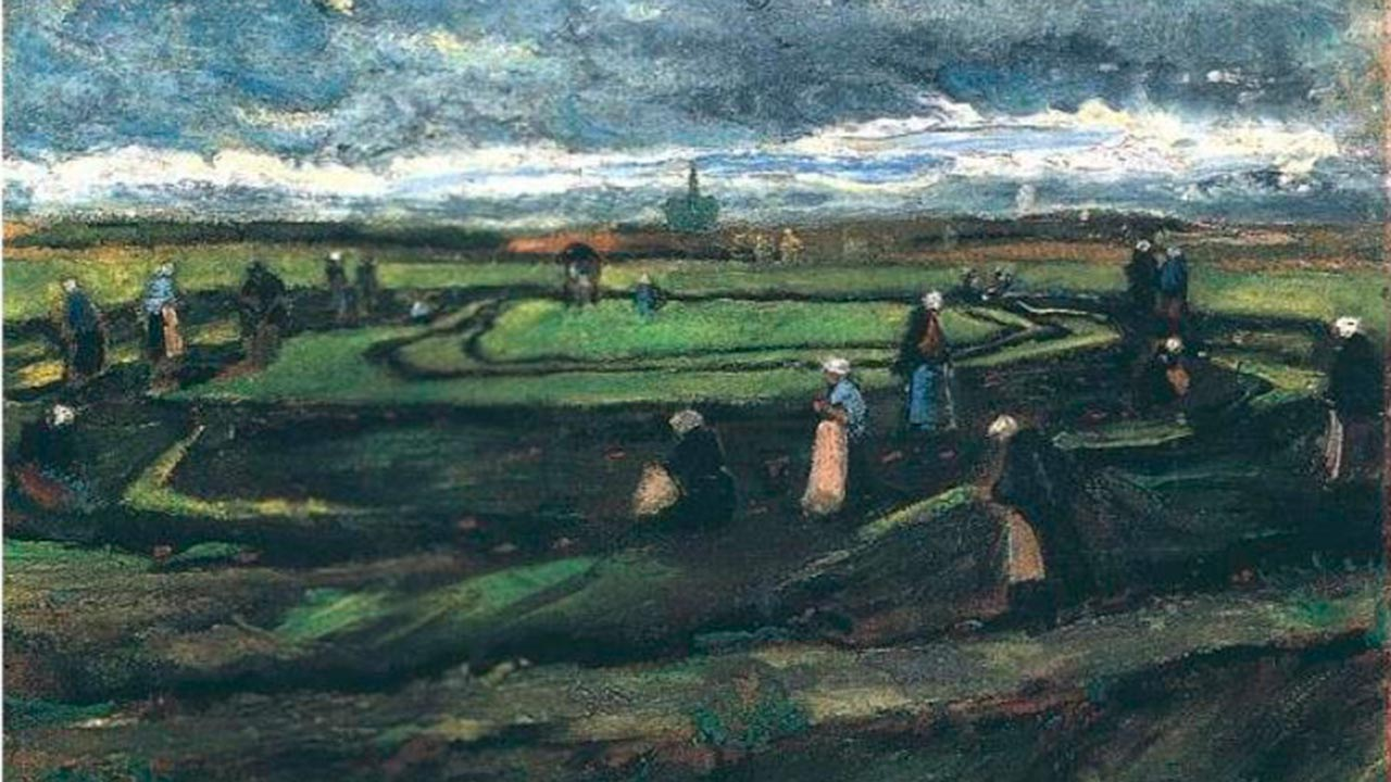 Paisaje de Van Gogh se subasta en más de 8 mdd