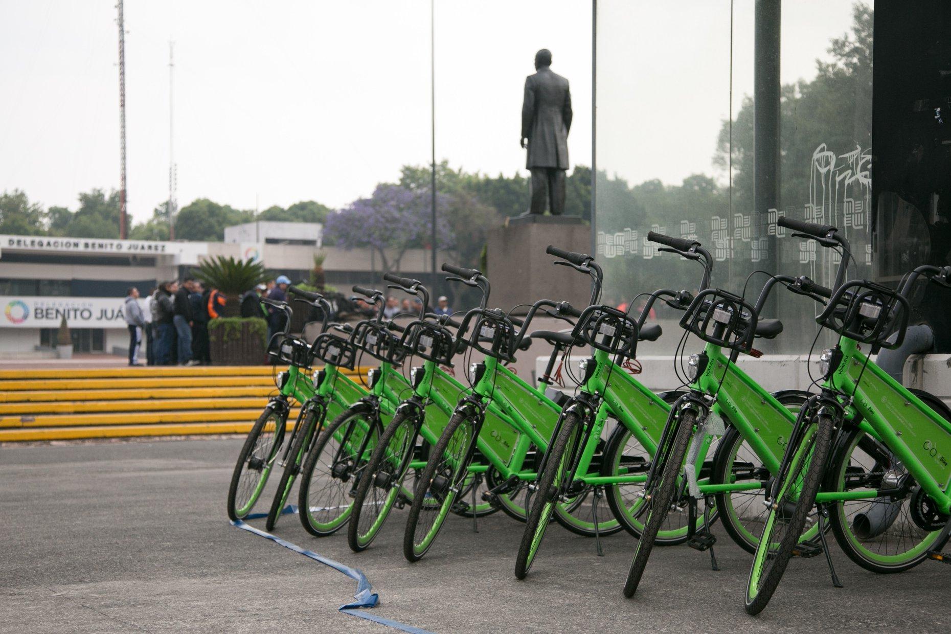 VBike también sufre el robo de sus bicicletas en CDMX