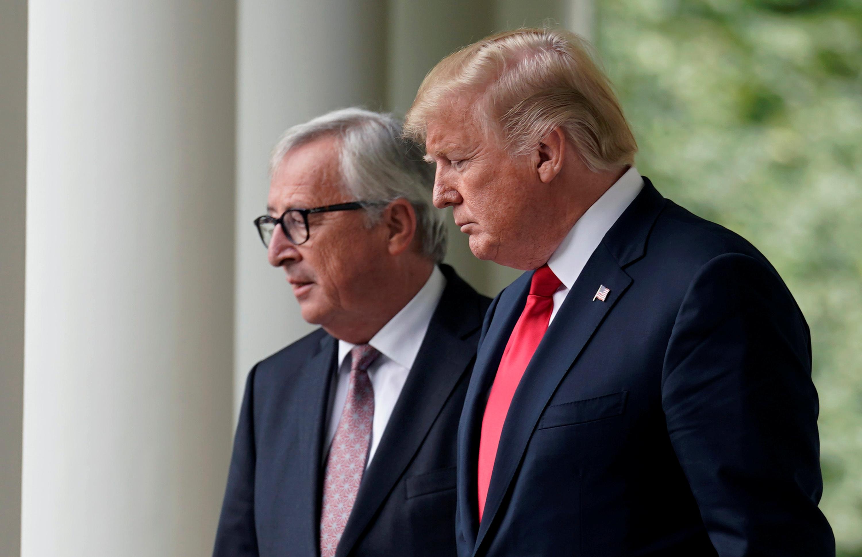 Trump libra guerra comercial con UE al llegar a acuerdos