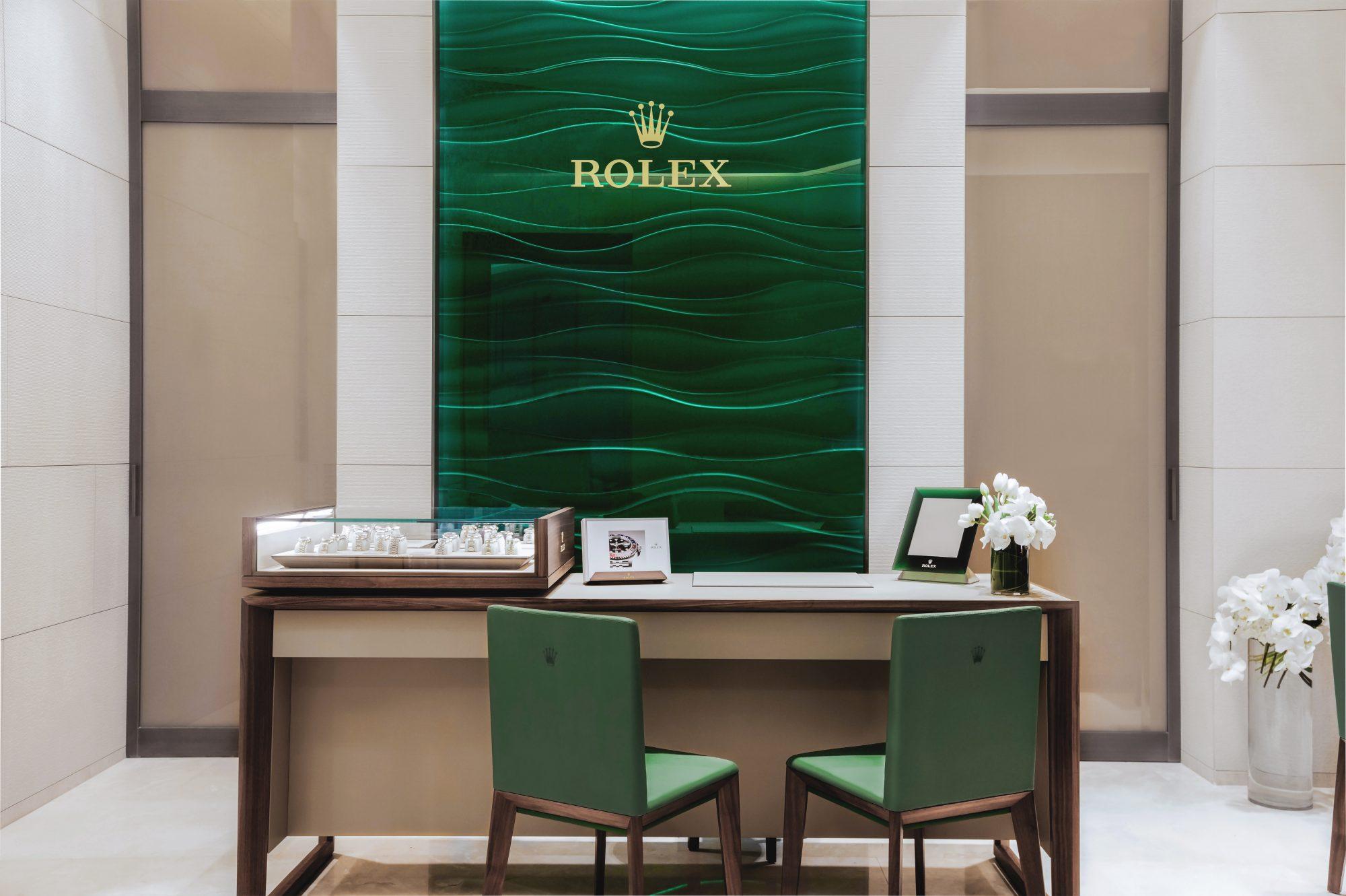 Rolex, México, boutique