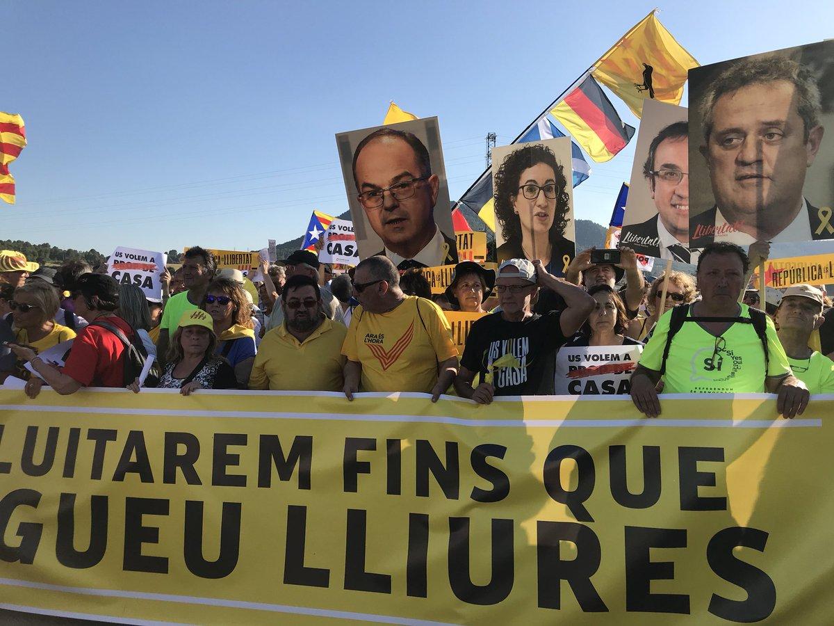 Tiempos revueltos en Cataluña