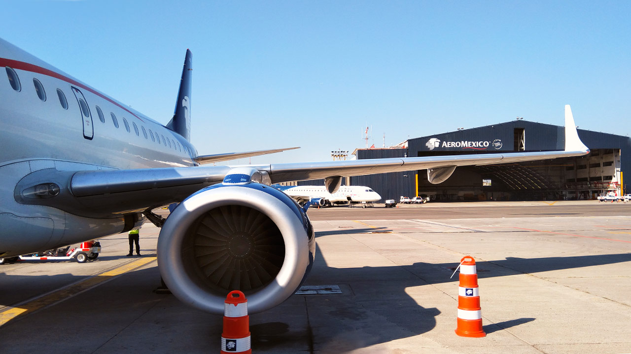 Nuestro modelo es para operar en un aeropuerto, no en dos: Aeroméxico