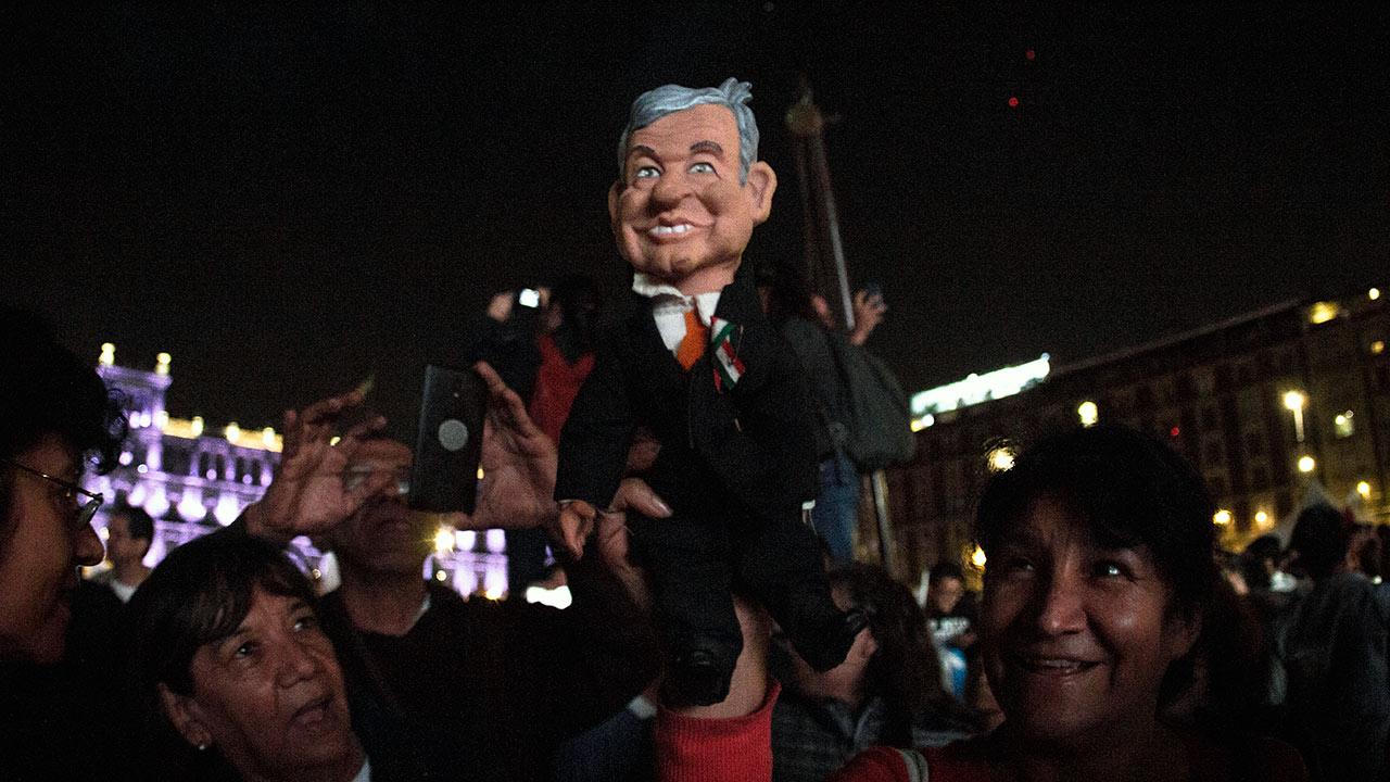 López Obrador hacia la cuarta transformación