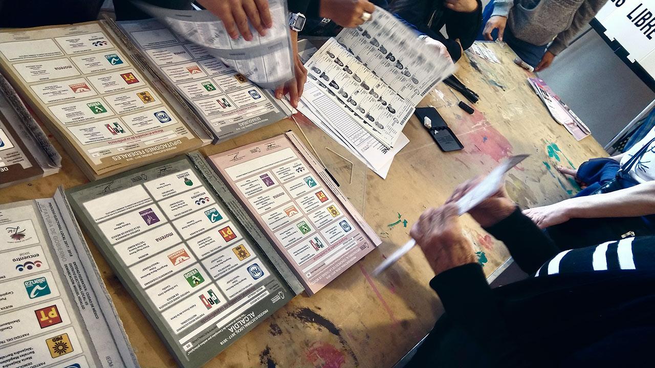 INE garantiza logística en 6 estados con elecciones