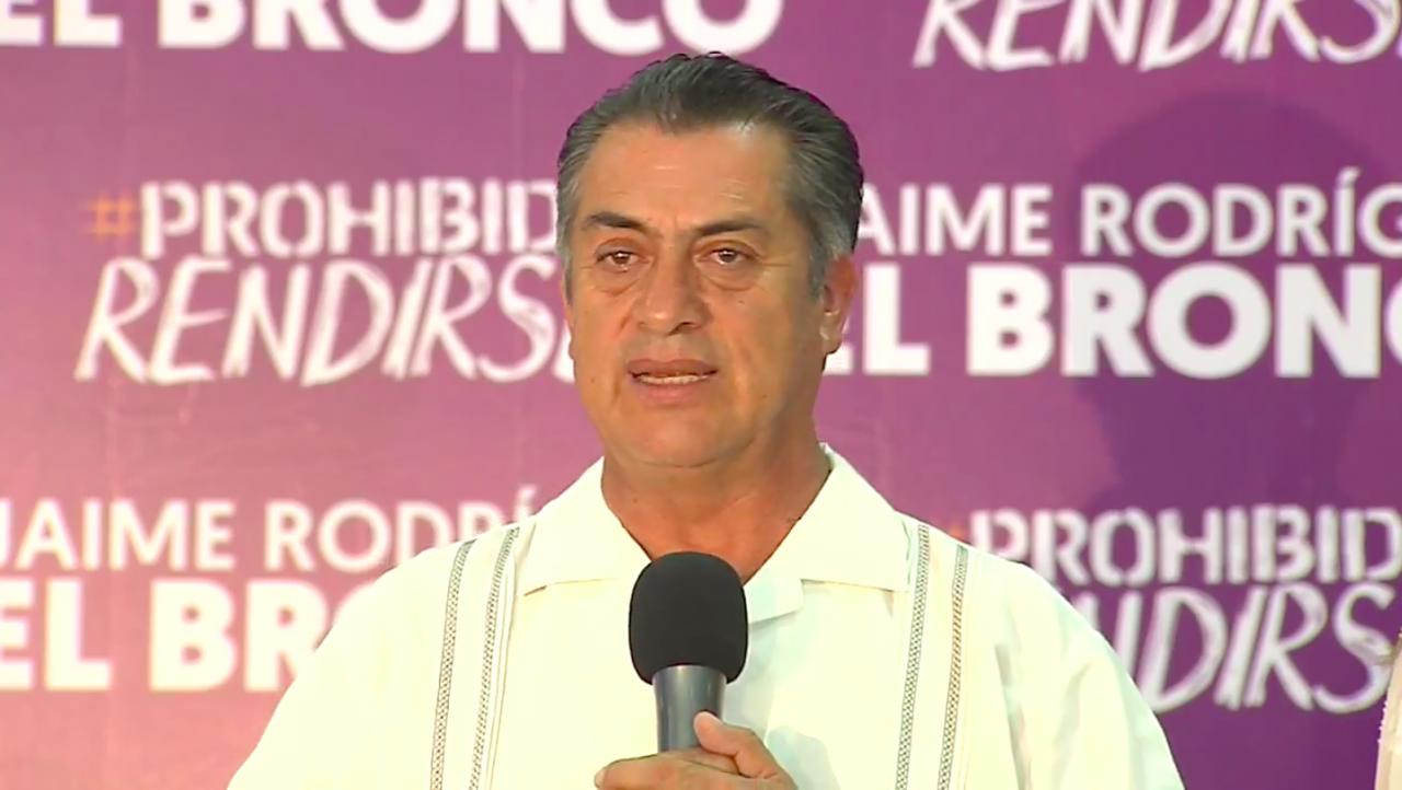 'El Bronco' anuncia su regreso a la Gubernatura de NL