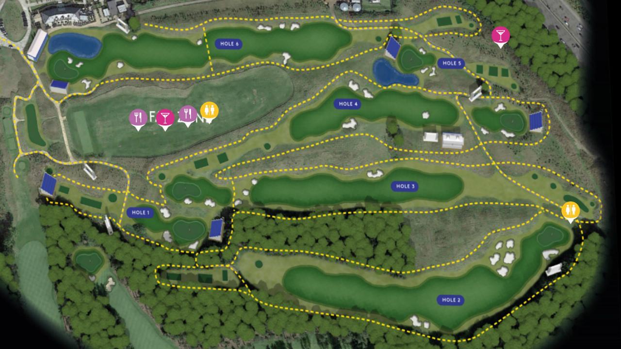 El Golf del futuro ya llegó y se llama Golf Sixes