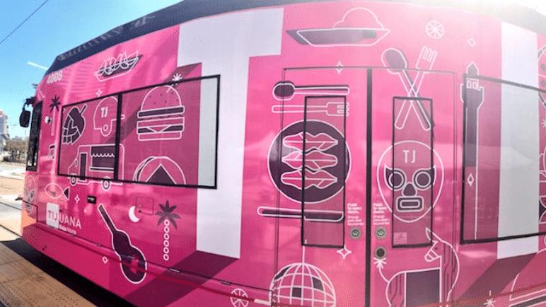 Tijuana deja su huella en el transporte público de San Diego
