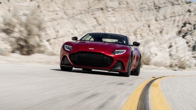Aston Martin DBS Superleggera, el coupé que roba miradas