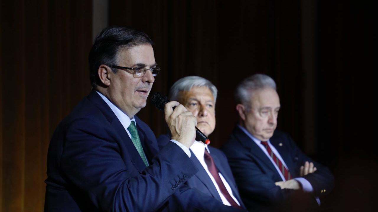 AMLO propone a Ebrard como el Canciller de su próximo Gobierno