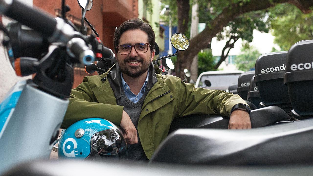 Econduce, la startup beneficiada por el tráfico de CDMX