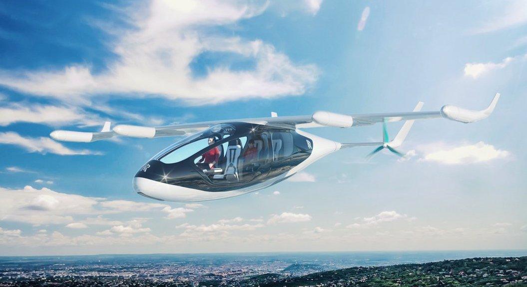 Rolls Royce presenta al EVTOL, su primer vehículo volador