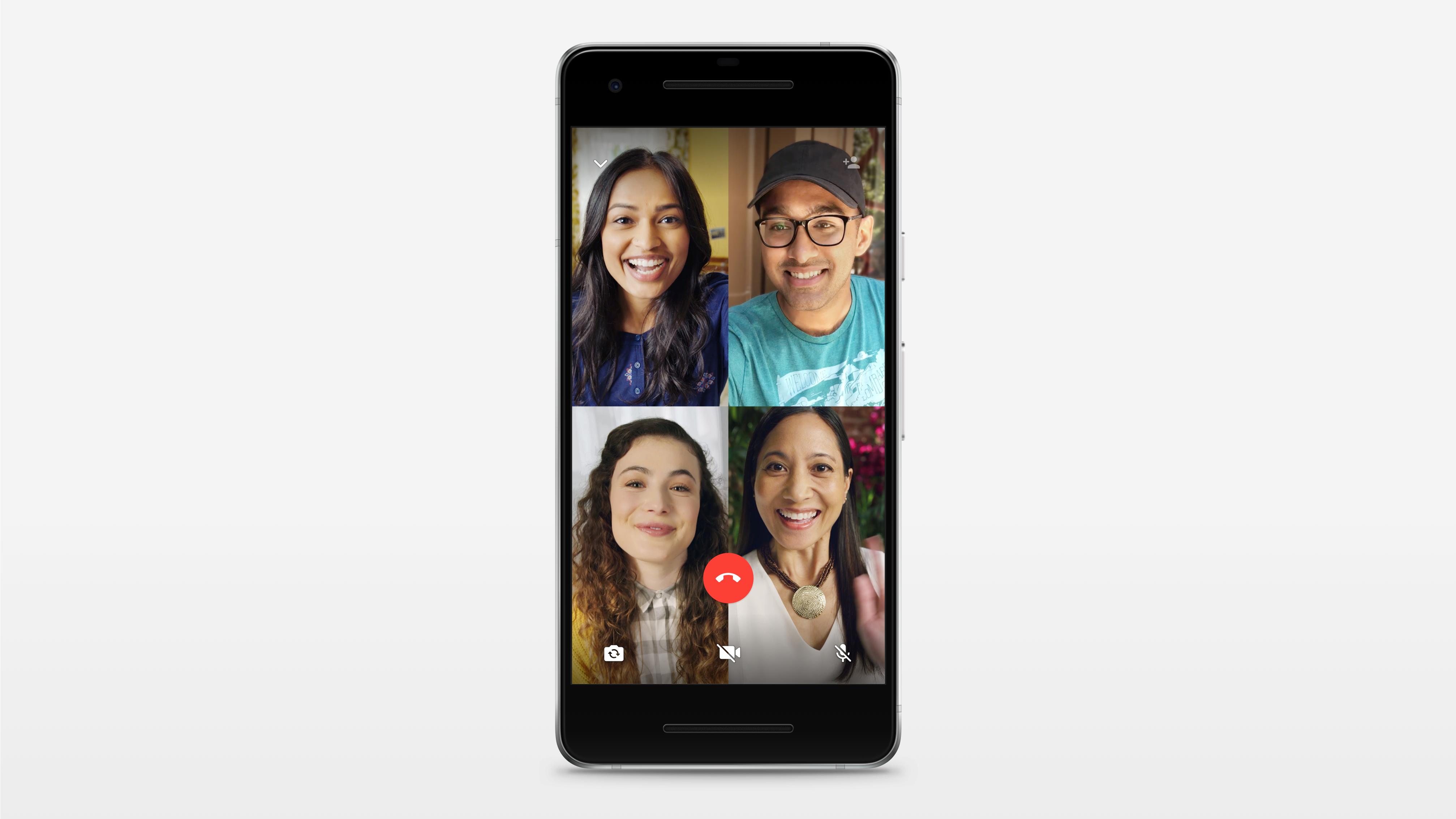 WhatsApp lanza función para realizar llamadas y videollamadas grupales