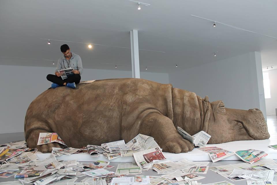 Descubre al hipopótamo gigante del Museo de Arte Carrillo Gil… y mucho más