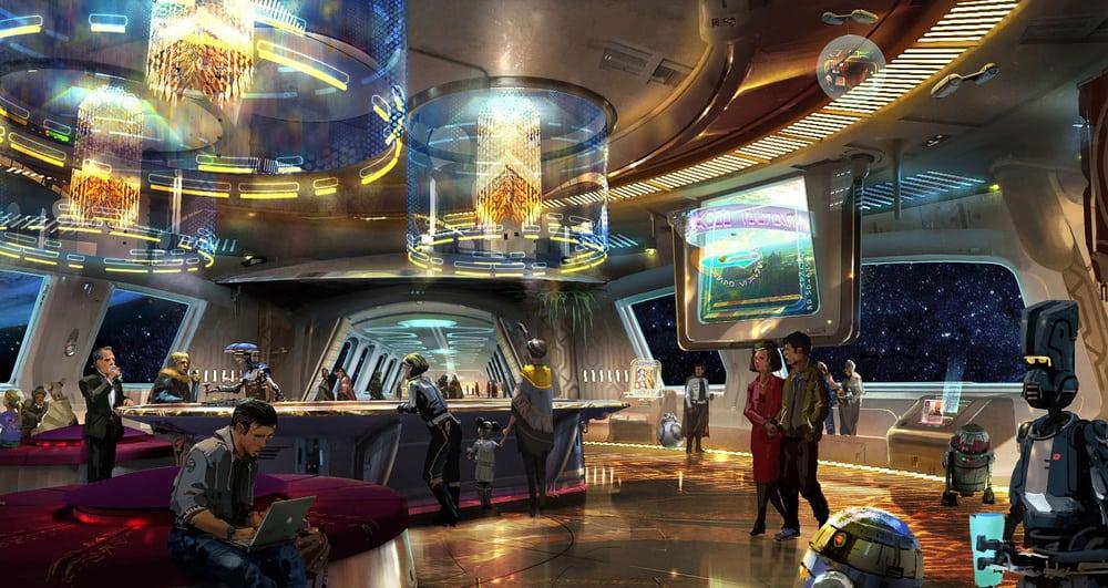 Así lucirá Star Wars: Galaxy's Edge, el hotel inspirado en la saga