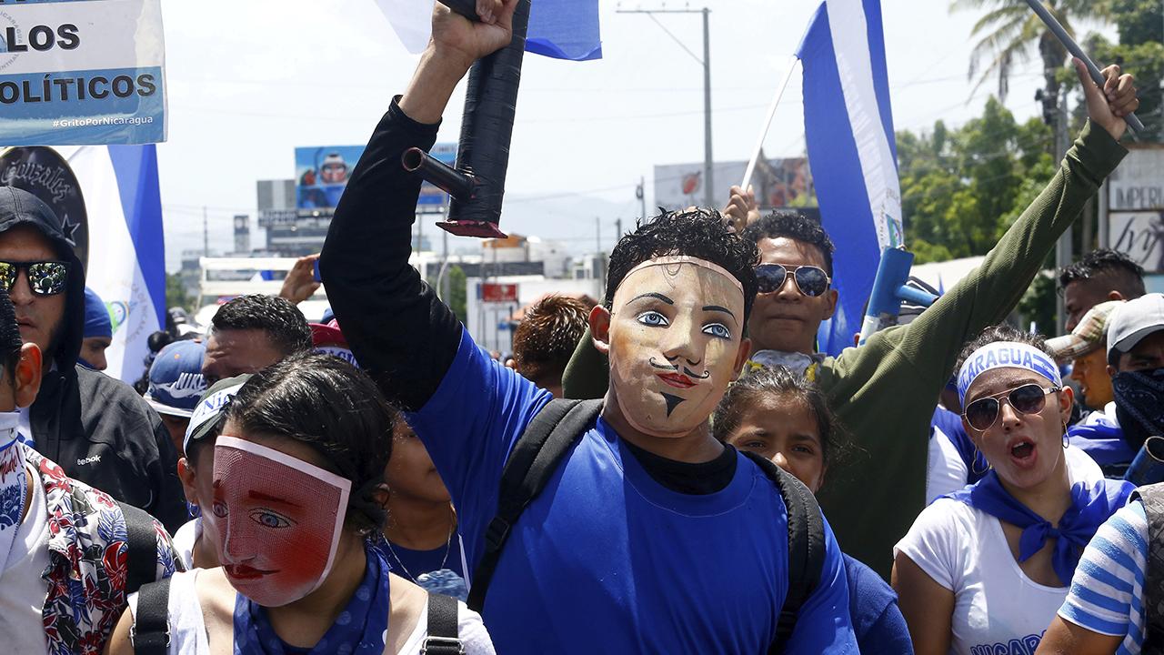 Nicaragua celebra aniversario de Revolución en medio de crisis