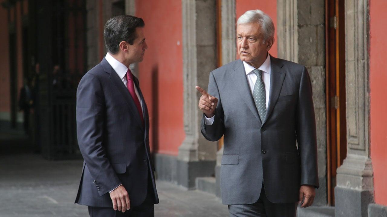 López Obrador se reúne esta tarde con Peña Nieto