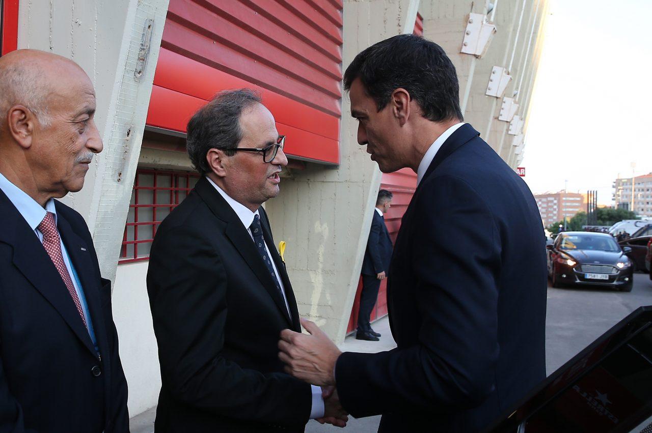 España y Cataluña quieren volver a la normalidad, pero sin concesiones