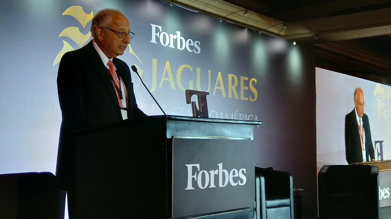Jorge Zablah-Touche, premio Forbes a la excelencia empresarial en CA