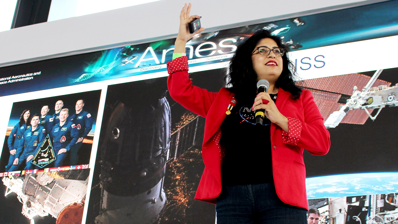 Ali Guarneros, la mexicana que triunfó en la NASA