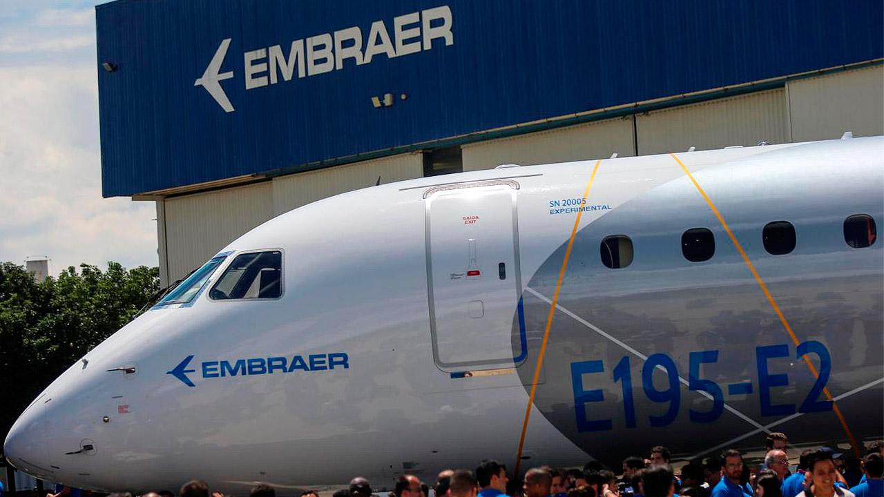 Embraer sufre fuerte caída trimestral por incidente en prueba KC-390