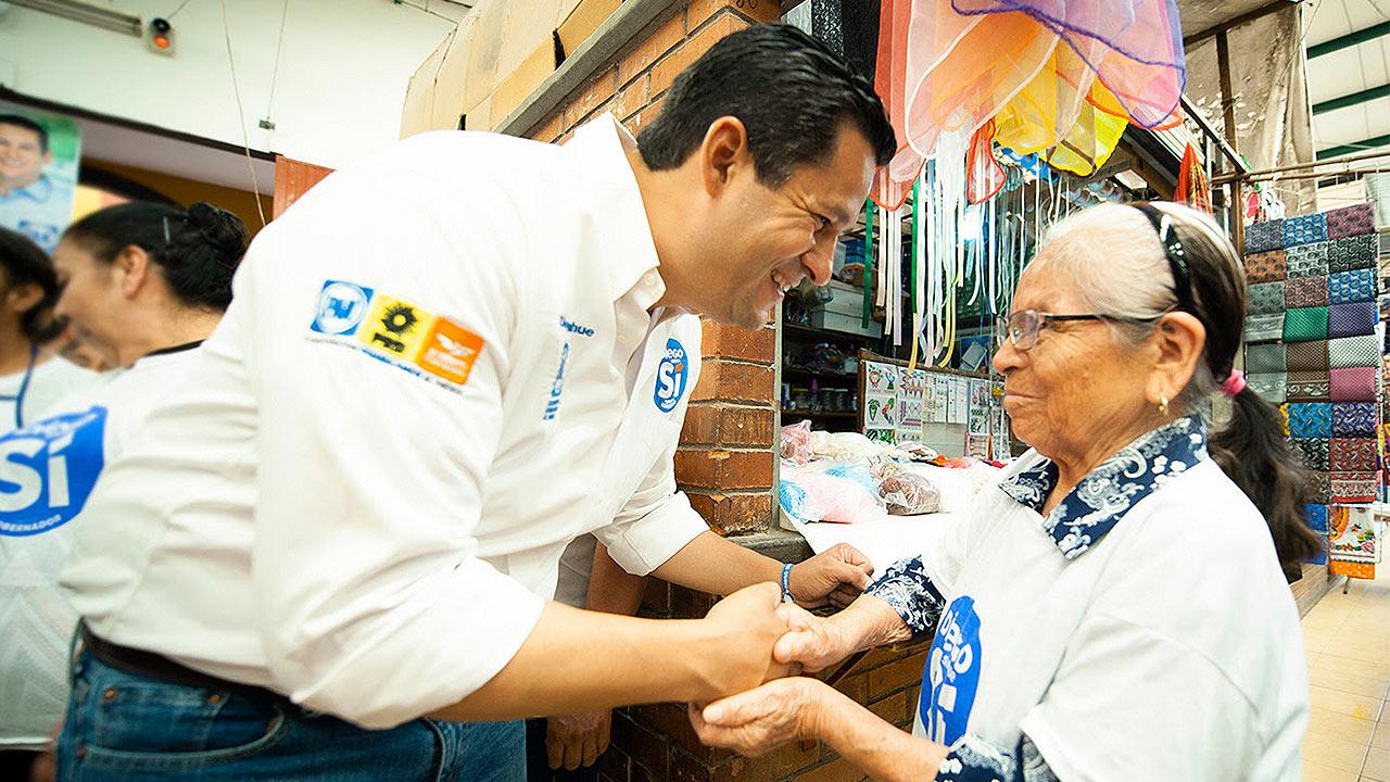 Diego Sinhué le da victoria al Frente en Guanajuato, según Mitofsky