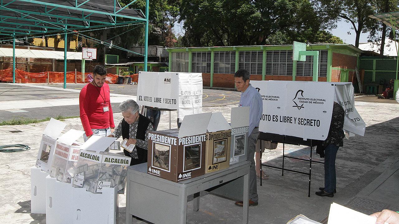 Las redes sociales durante la jornada electoral