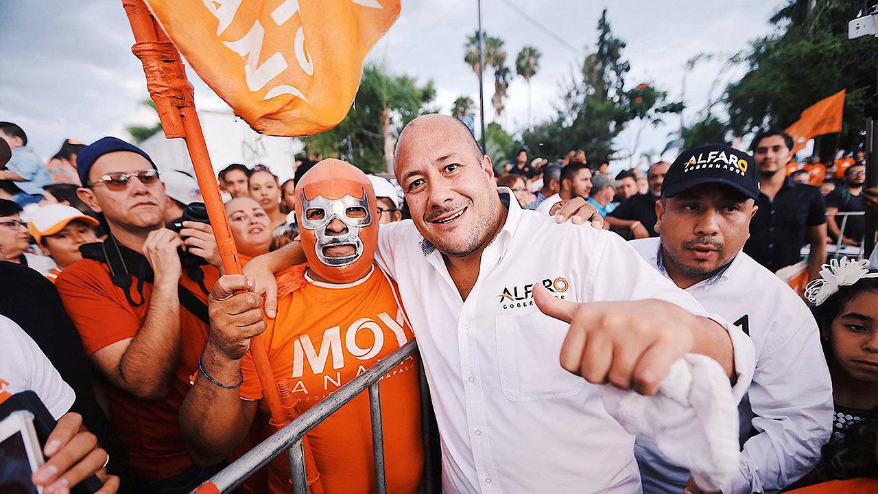 Enrique Alfaro perfila victoria para MC en Jalisco