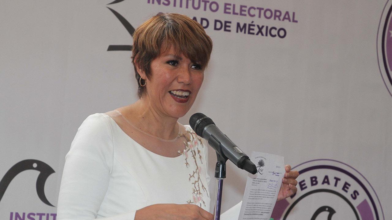 Decepciona a Lorena Osornio la elección de los capitalinos