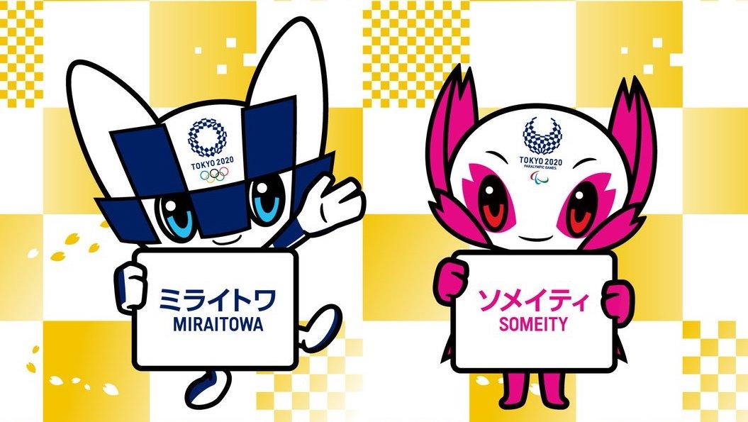 Conoce a Miraitowa y Someity, las mascotas de Tokyo 2020
