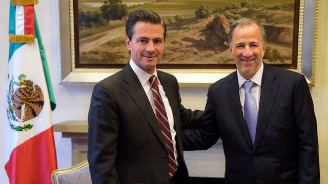 Recibe Peña al excandidato presidencial José Antonio Meade