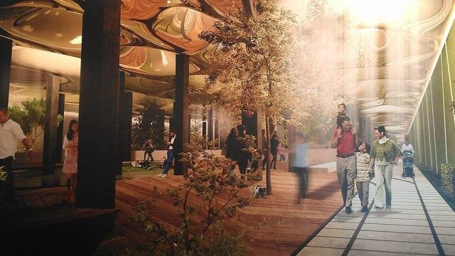 parque subterráneo Nueva York