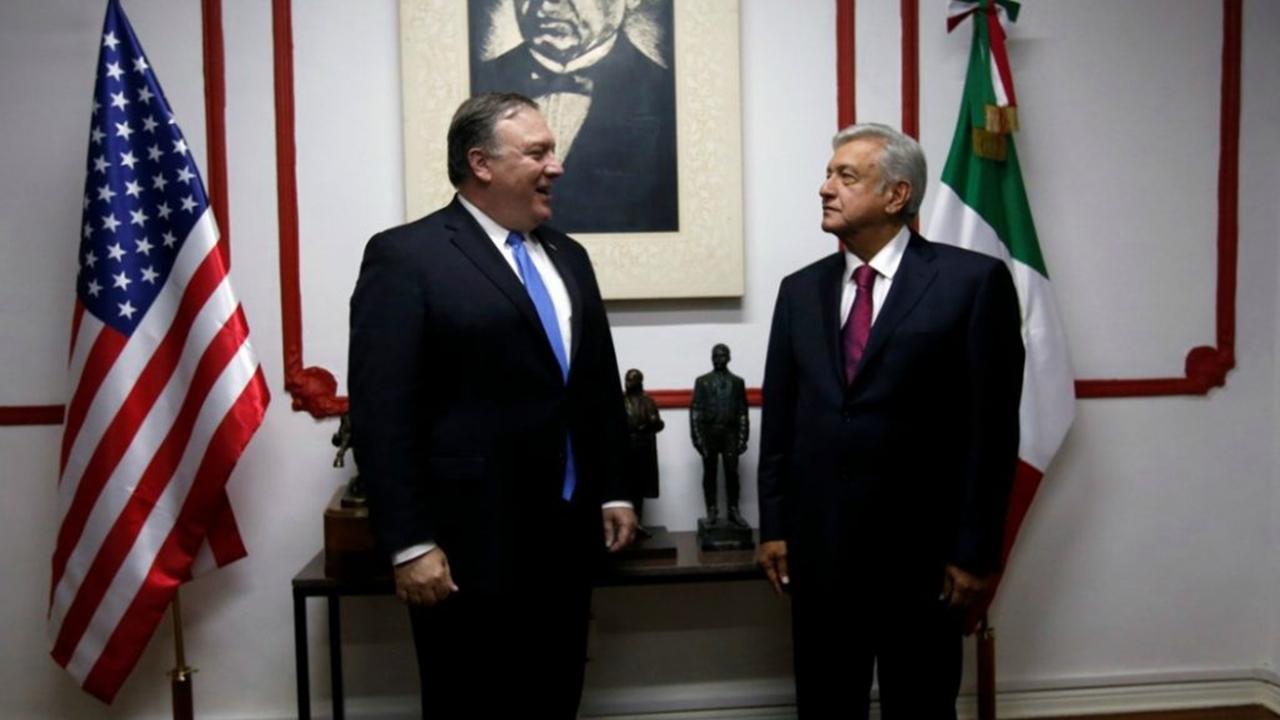 Delegación estadunidense se reúne con López Obrador