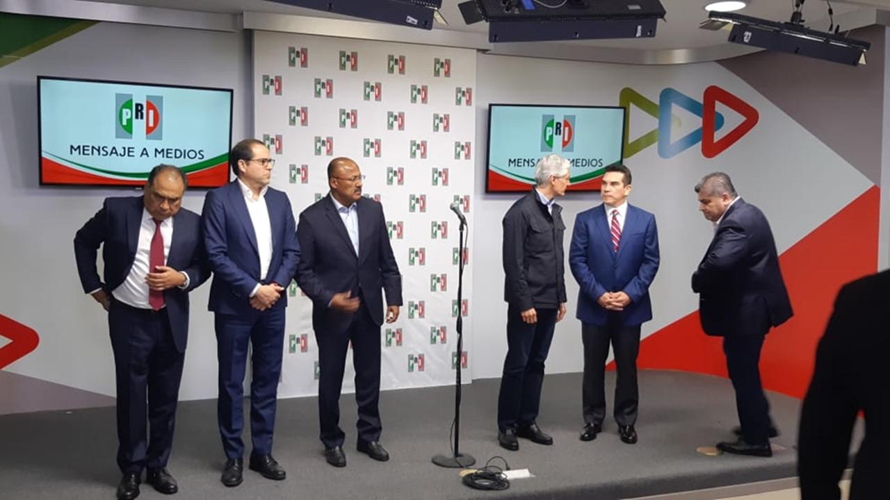 PRI se mantendrá unido 'monolíticamente', afirma su dirigente