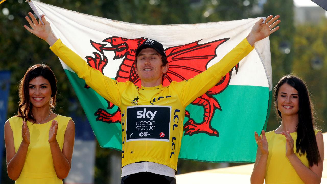 Geraint Thomas gana el Tour de Francia