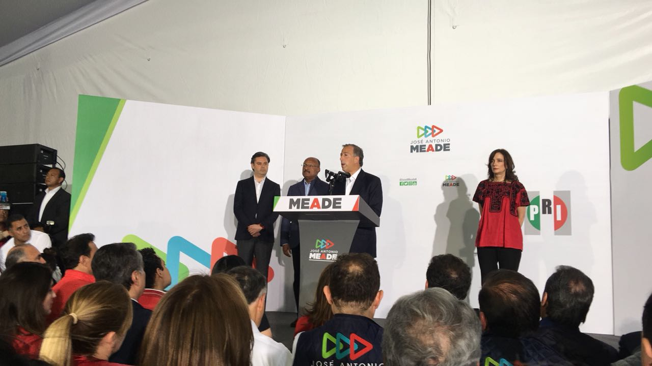 Meade admite derrota electoral ante López Obrador
