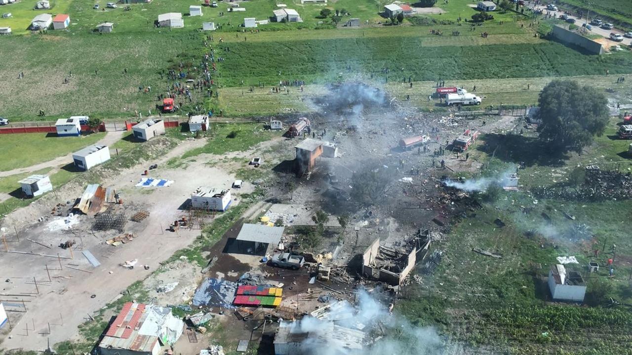 Fallecidos porexplosión en Tultepec ascienden a 24