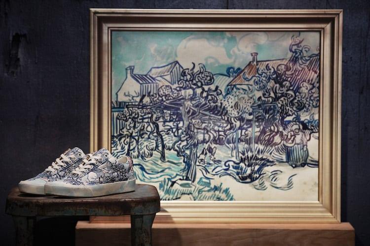 Vans lanza colección de ropa inspirada en las pinturas de Vincent van Gogh