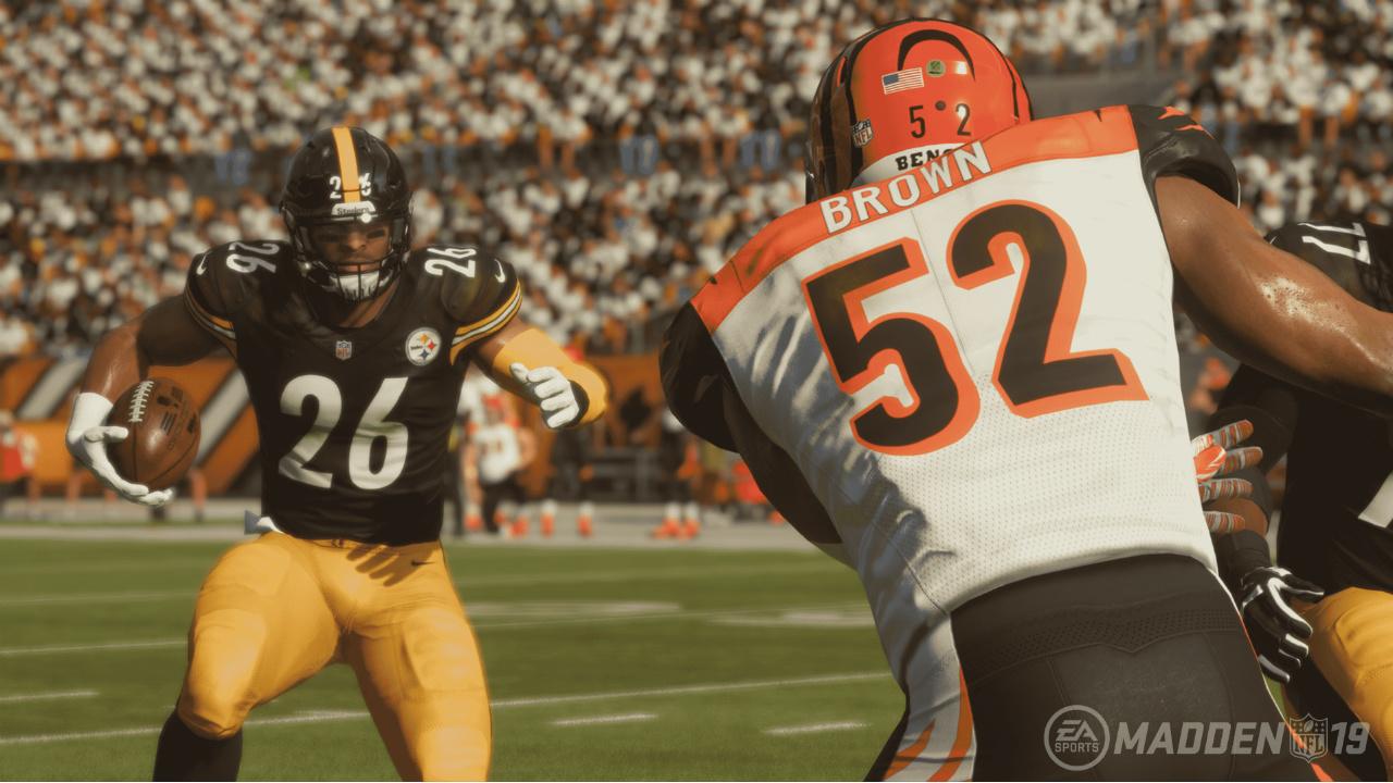 En Madden NFL 19, una apuesta por el realismo