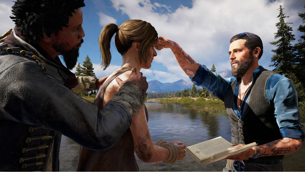 Far Cry 5, la profunda inmersión en la montaña