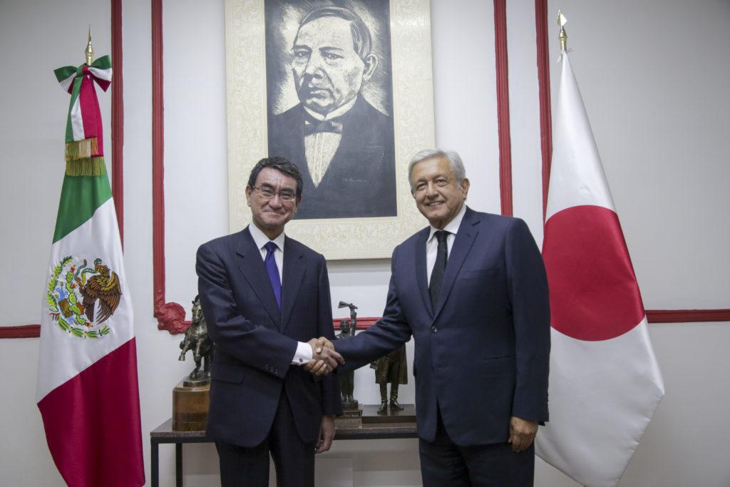 Ministro de Japón se reúne con López Obrador