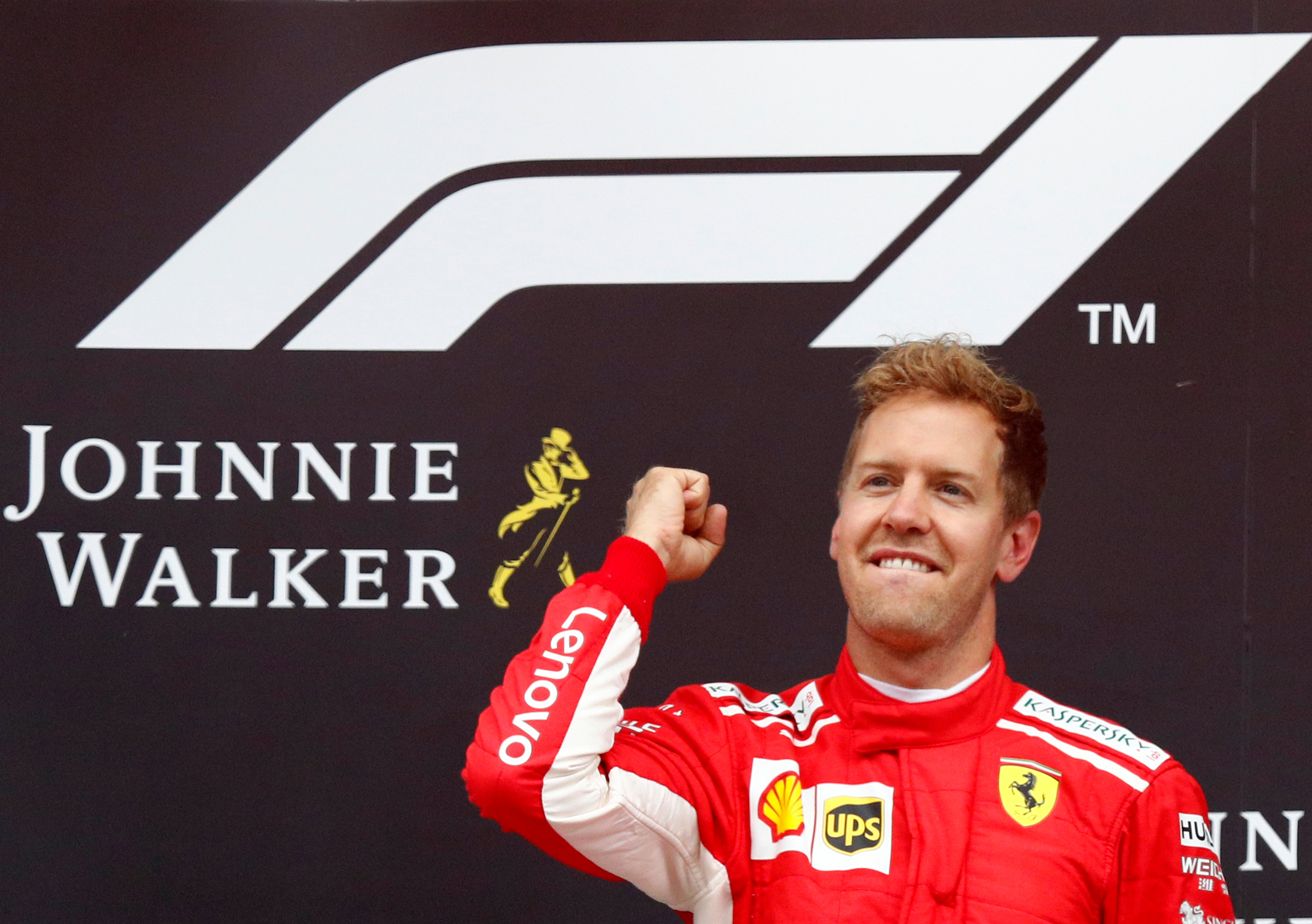 Sebastian Vettel gana el Gran Premio de Bélgica