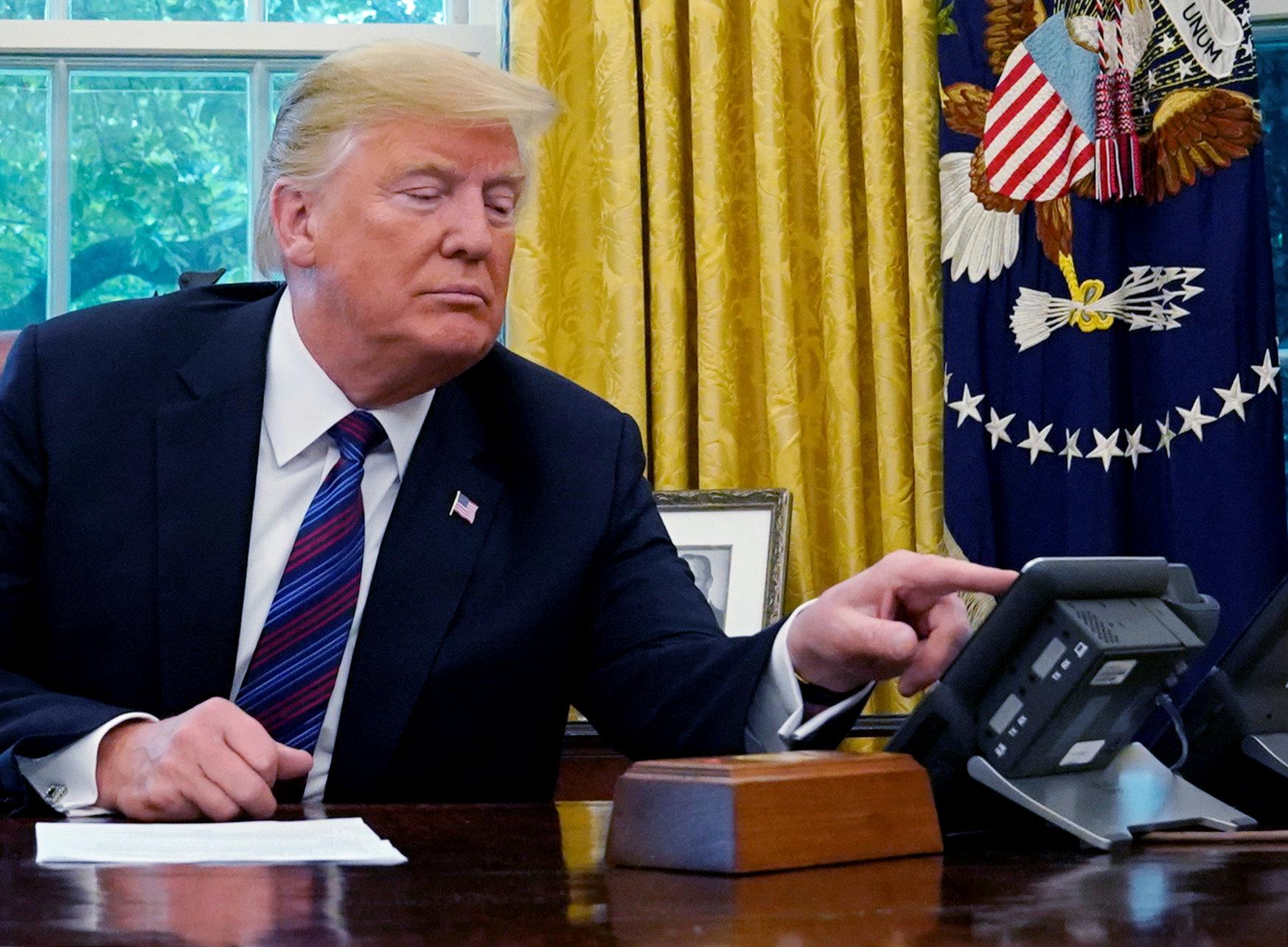 Demócratas advierten juicio político a Trump por pagos secretos