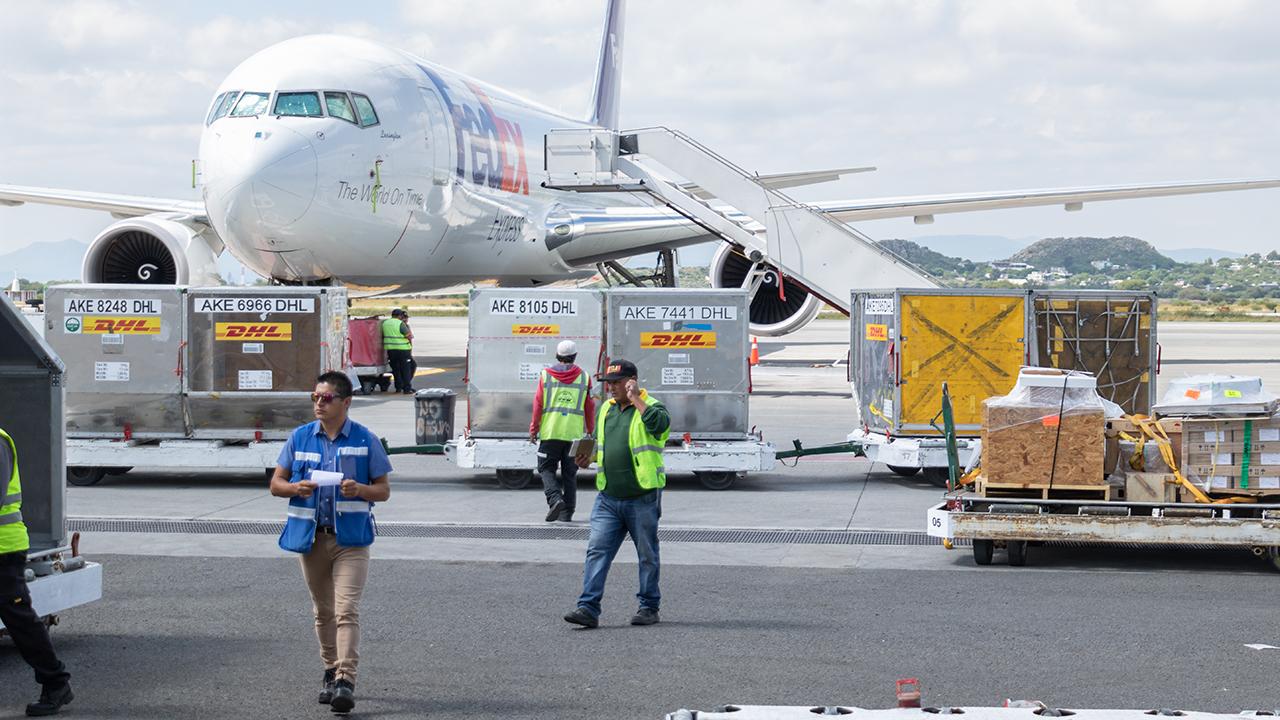 Nebuloso, el tránsito de mercancías del futuro aeroportuario de CDMX
