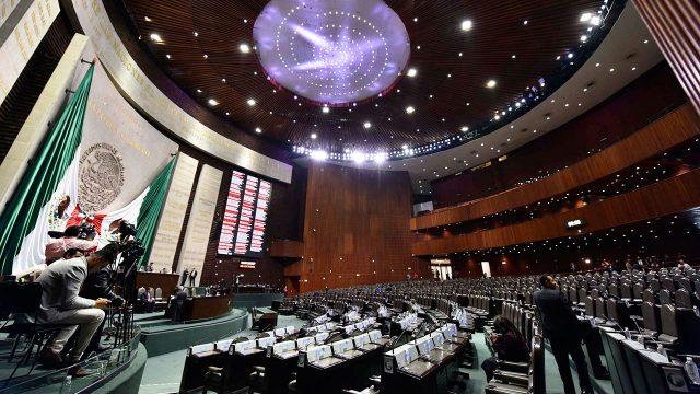 Cámara de Diputados. Foto: Notimex.