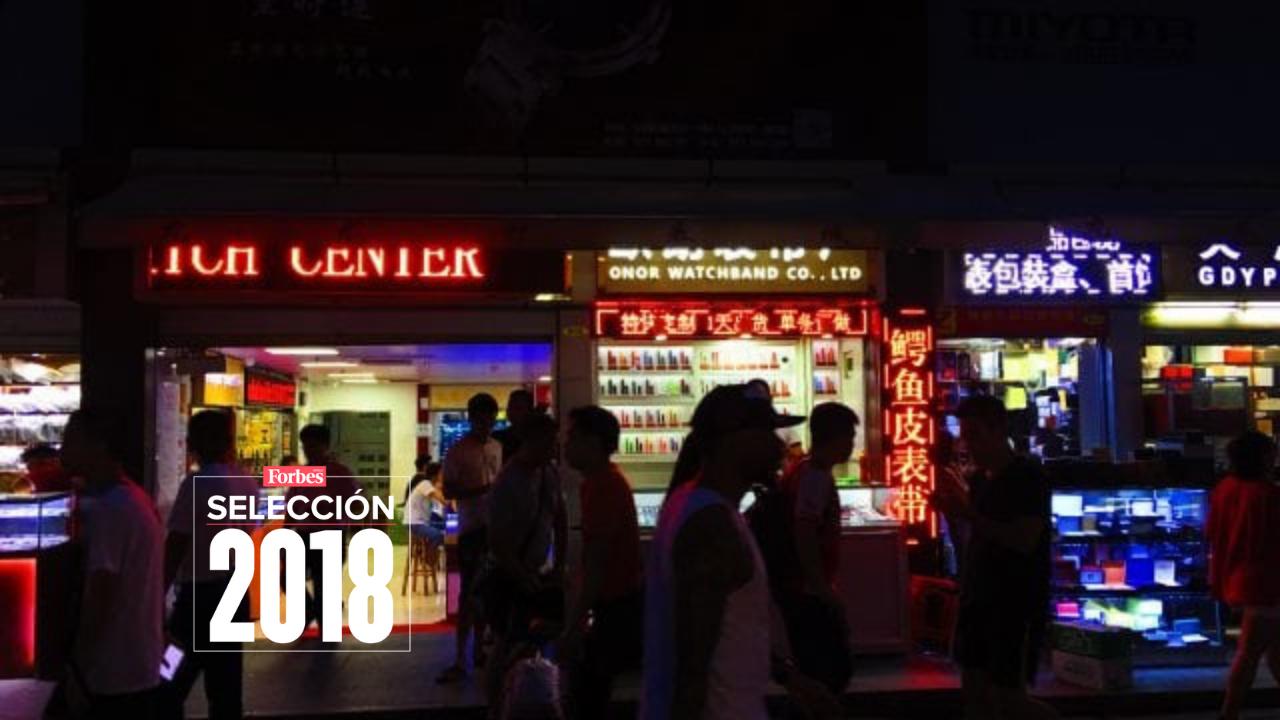 Selección 2018 | En este mercado chino una bolsa 'Chanel' cuesta 400 pesos