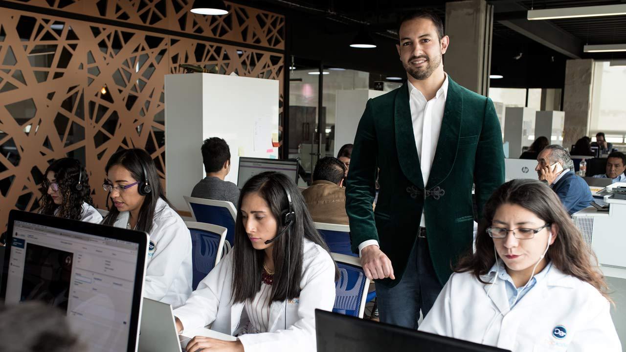 ¿Pídete un .Doc? La startup mexicana que lleva el consultorio a la palma de tu mano