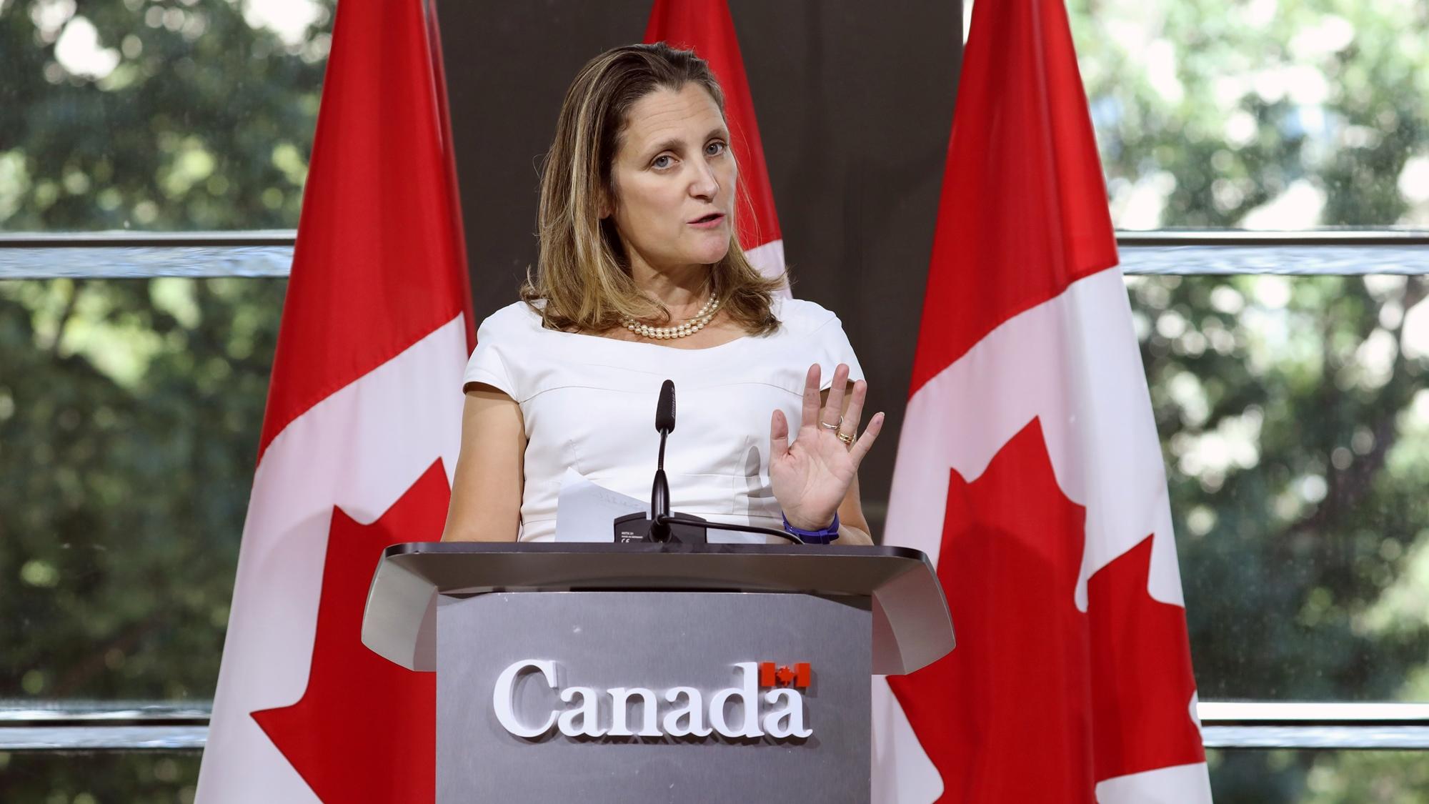 Canadá y EU ven 'muy buen progreso' en negociación del TLCAN