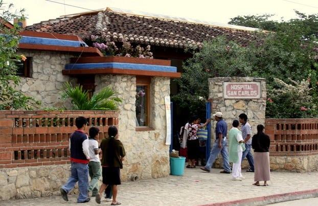 El hospital de Chiapas donde los indígenas pagan con naranjas, café y maíz