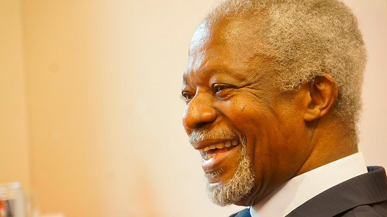 Kofi Annan ex secretario de la ONU y Premio Nobel de la Paz fallece a los 80 años