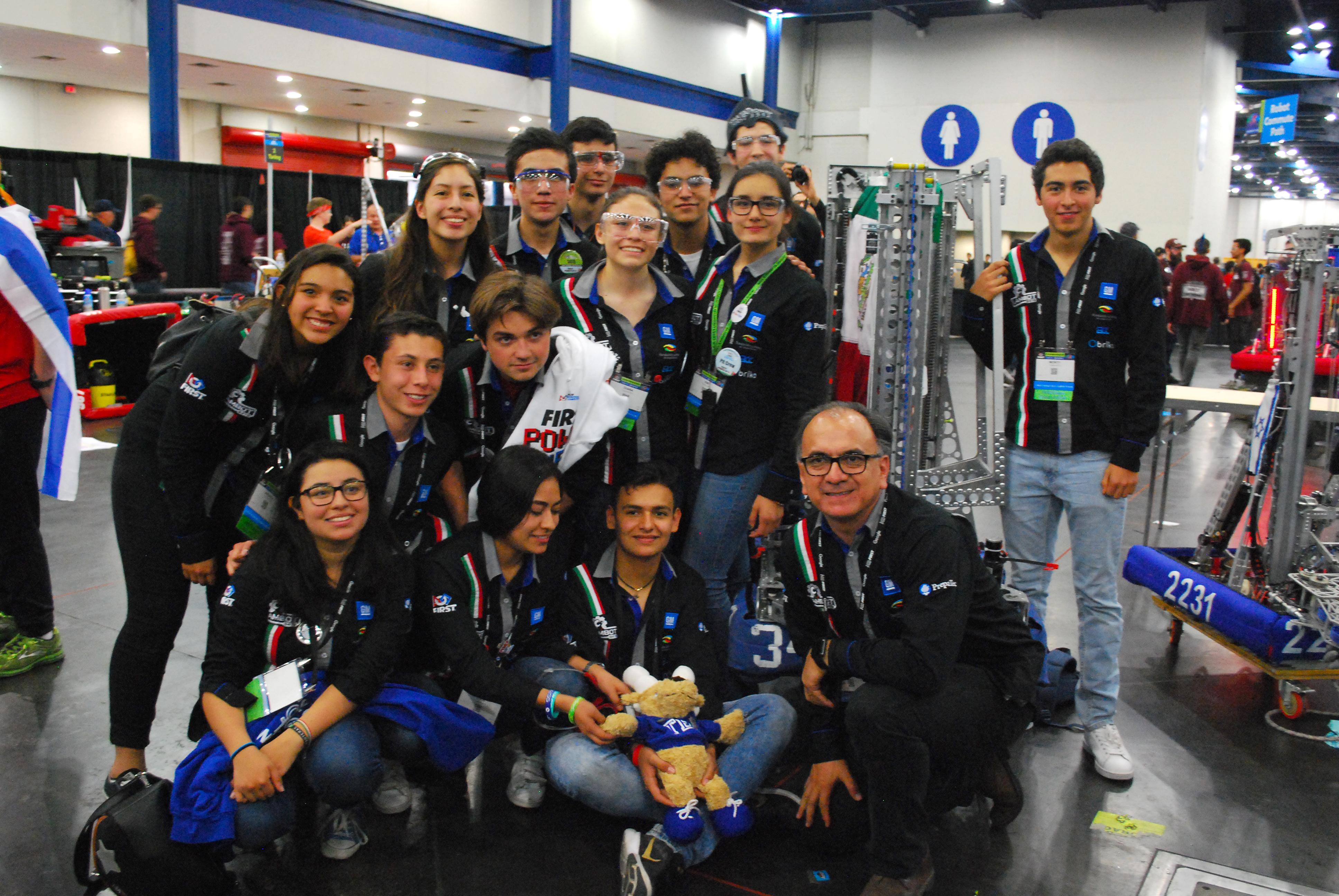Este equipo del Tec arañó la gloria en el Mundial de Robótica 2018